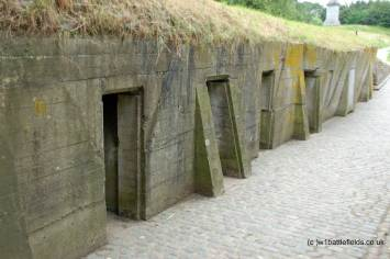 The ADS bunkers at Essex Farm