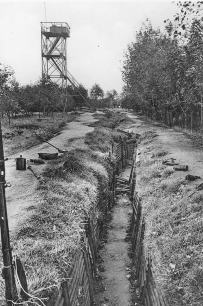 A trench at Hill 60 between the wars