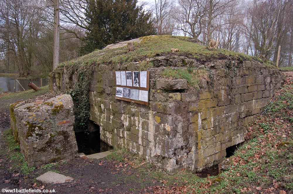 Pillbox at Hooge crater