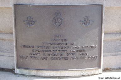 Princess Patricia's Canadian Light Infantry Memorial