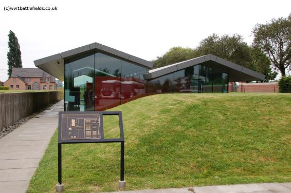 Visitors Centre, Lijssenthoek Cemetery