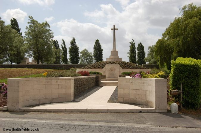 Messines Ridge Cemetery & NZ Memorial