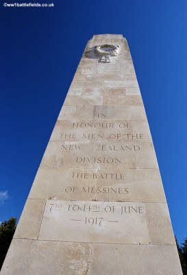 New Zealand Memorial Messines