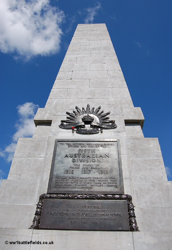 The 5th Australian Division Memorial