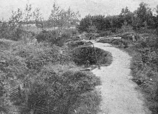 Sanctuary Wood pictured in the 1930s
