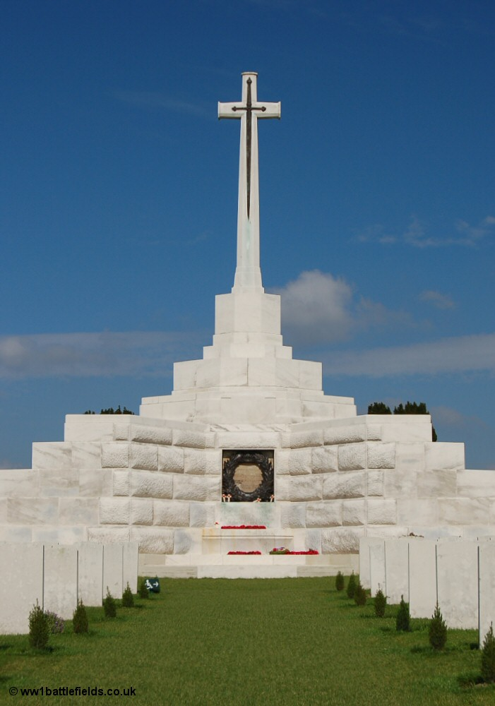 Tyne Cot Cross of Sacrifice