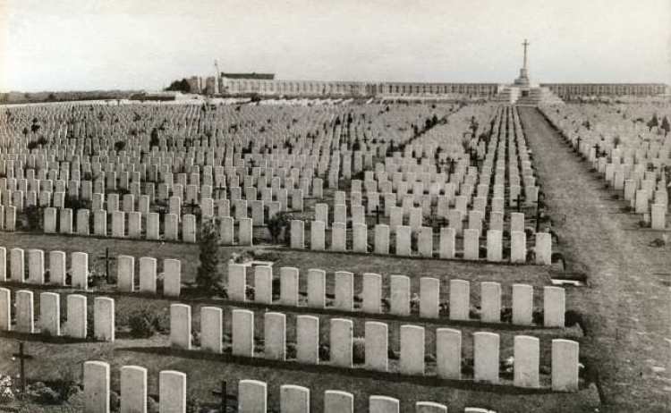 Tyne Cot between the Wars