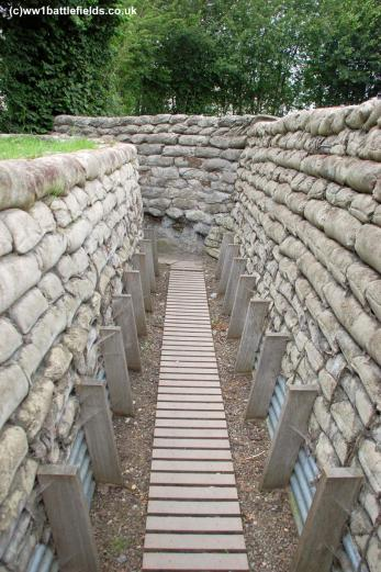 The Yorkshire Trench site