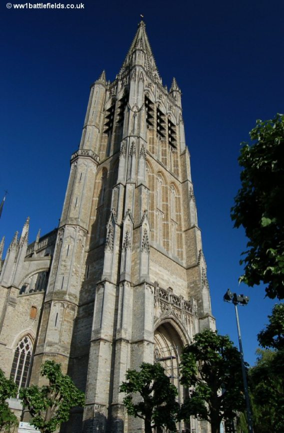 Cathedral of St. Martin and St. Nicholas , Ypres