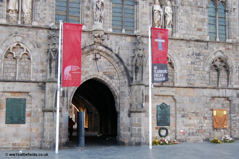 The In Flanders Field museum in the centre of Ypres