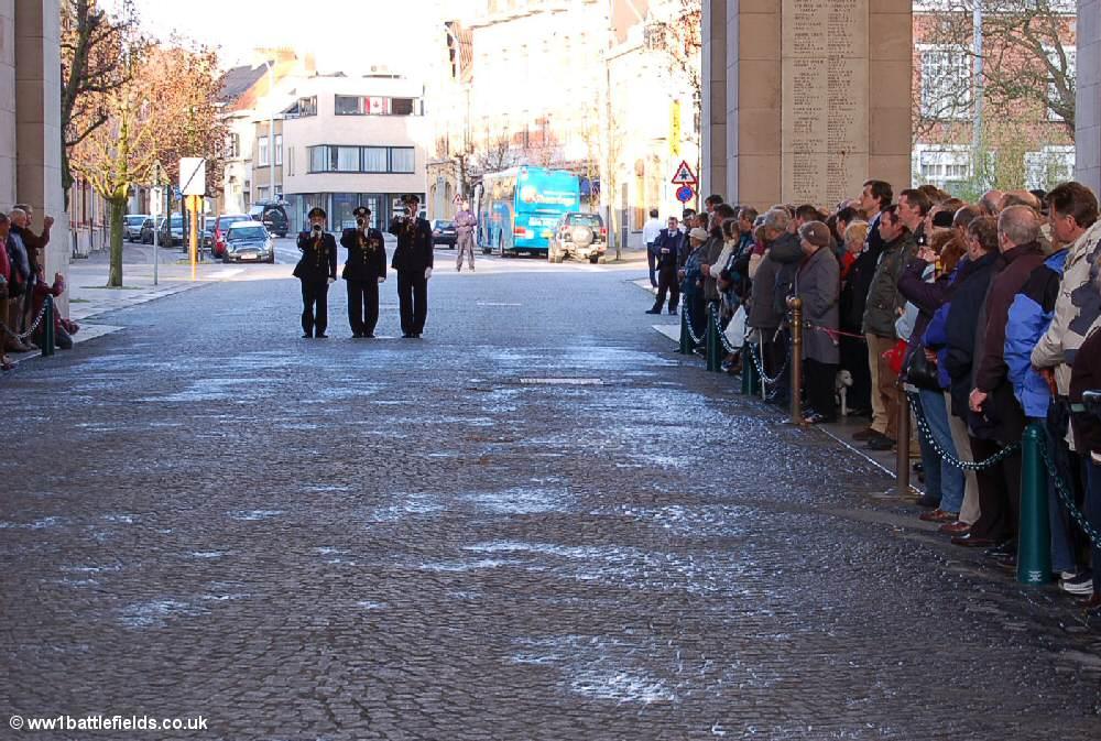Last Post at the Menin Gate, Ypres