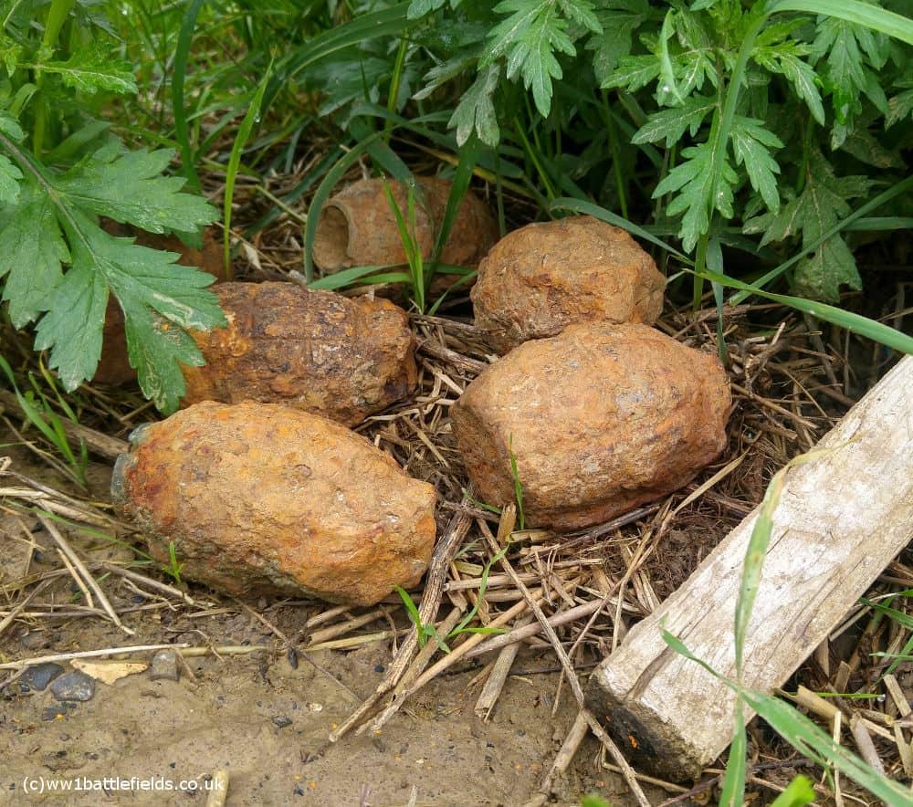 Mills bombs - grenades