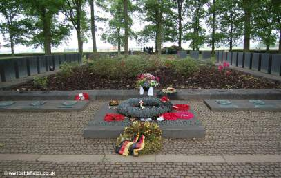 Memorial at Langemark German Cemetery