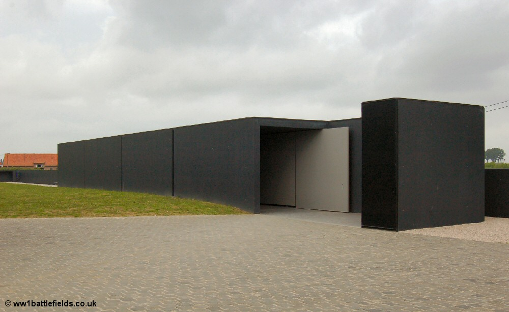 Visitors Centre at Langemark German Cemetery