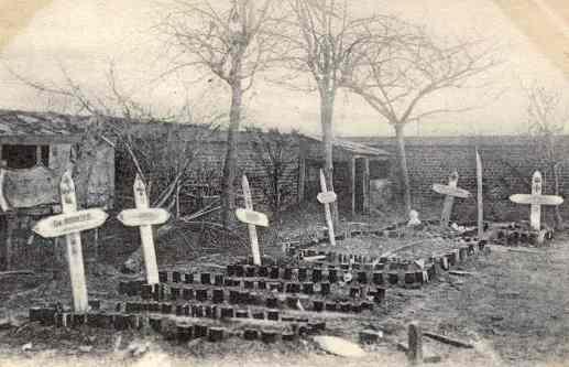 German graves in Vermelles
