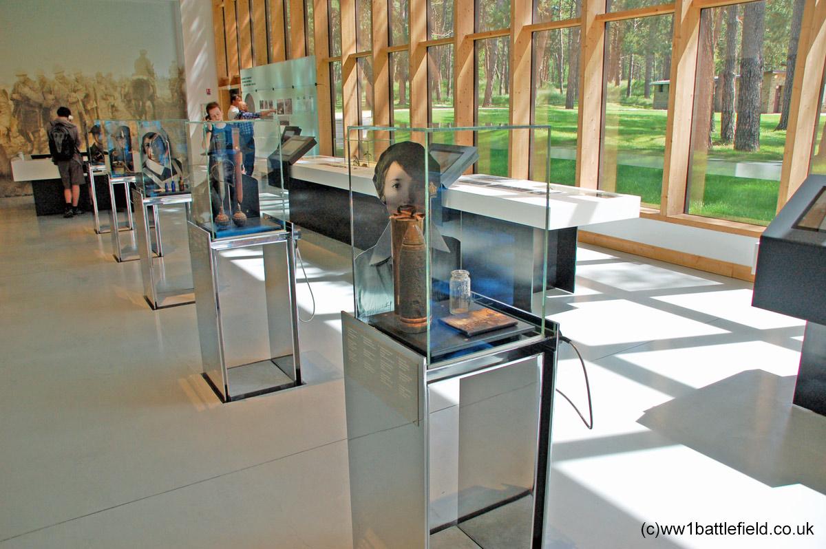 Vimy Ridge Visitor Centre Interior