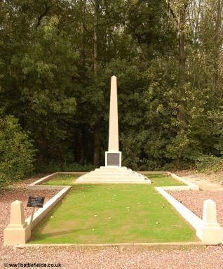 The 18th Division Memorial today