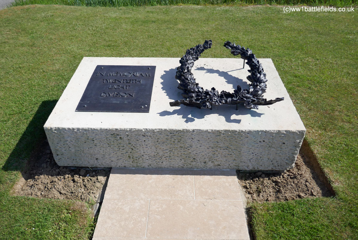 20th Light Division Memorial near Guillemont