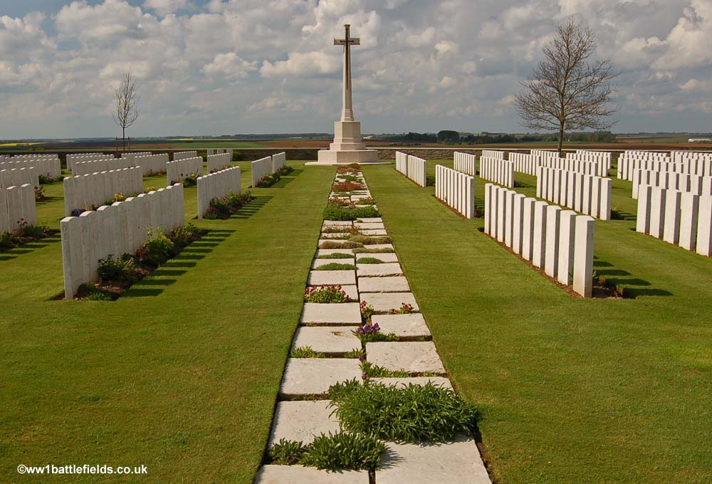 Guards Cemetery, Lesboeufs