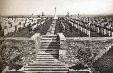 Guards Cemetery between the Wars. Photo: J. Souillard