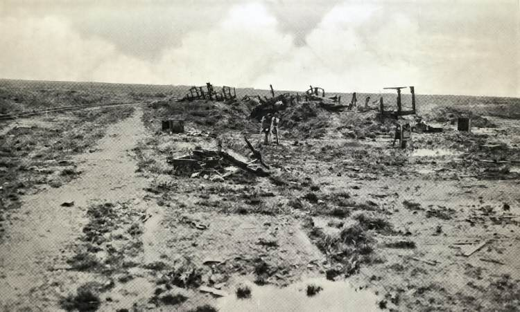 The ruins of Guillemont Station. Photograph from the History of the 20th (Light) Division.