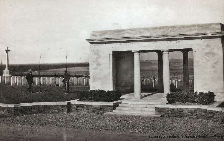 Guillemont Road Cemetery between the Wars. Photo: J. Souillard