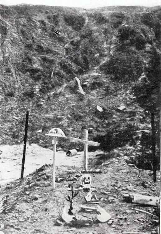 Crater at la Boiselle