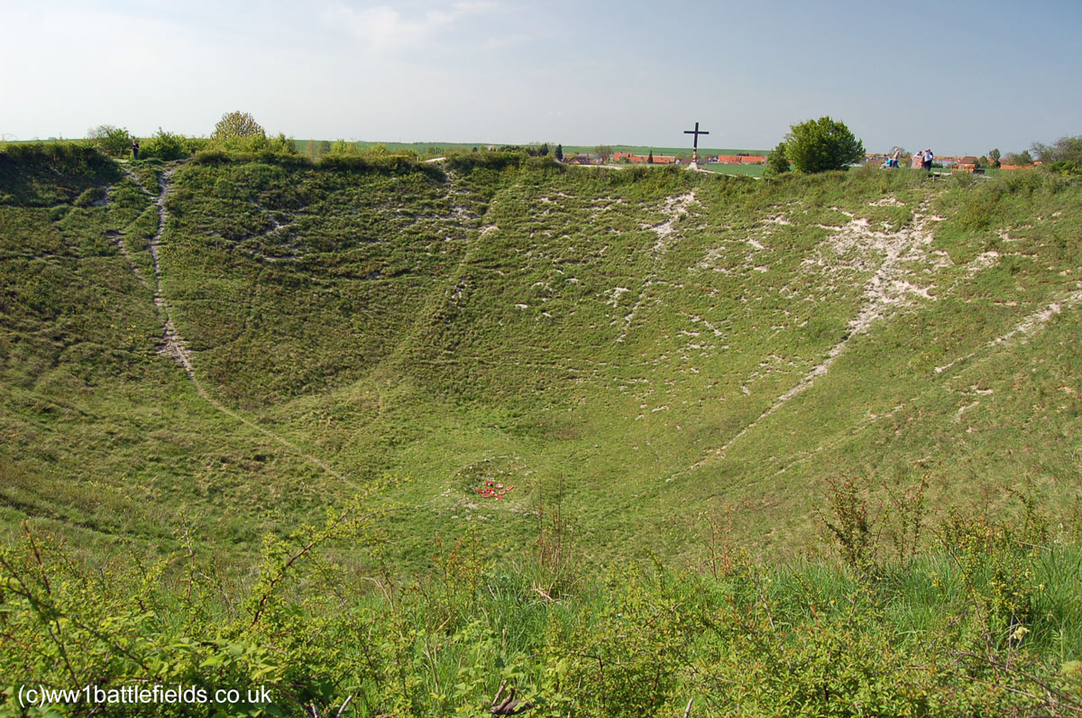 The Lochnagar Crater today