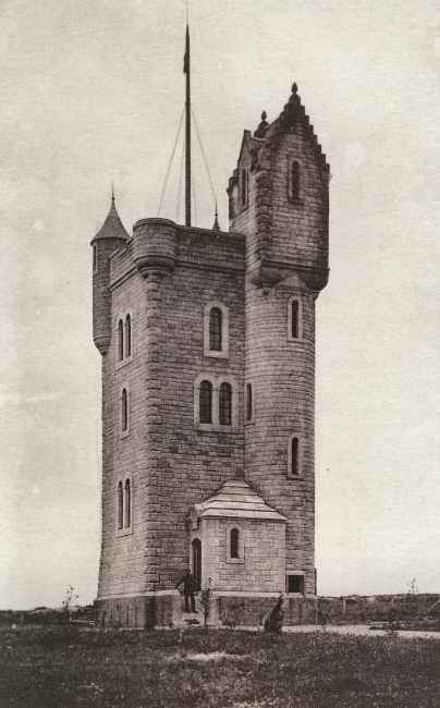 The Ulster Tower in perhaps the 1920s