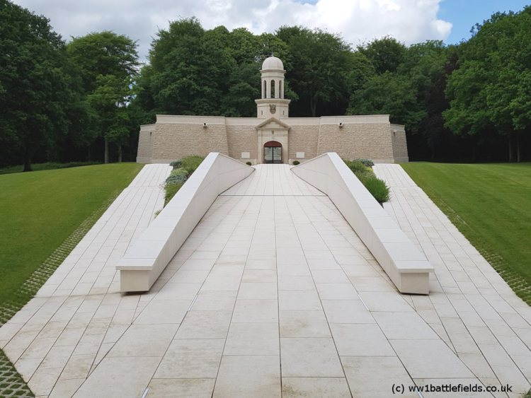 Entrance to Delville Wood Museum