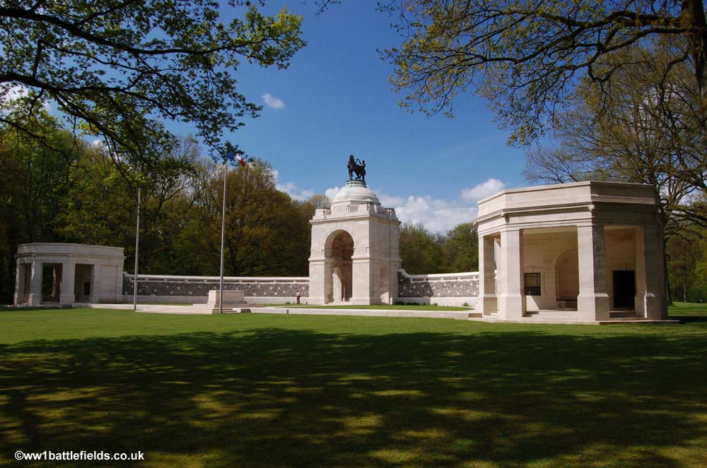 The Delville Wood Memorial today