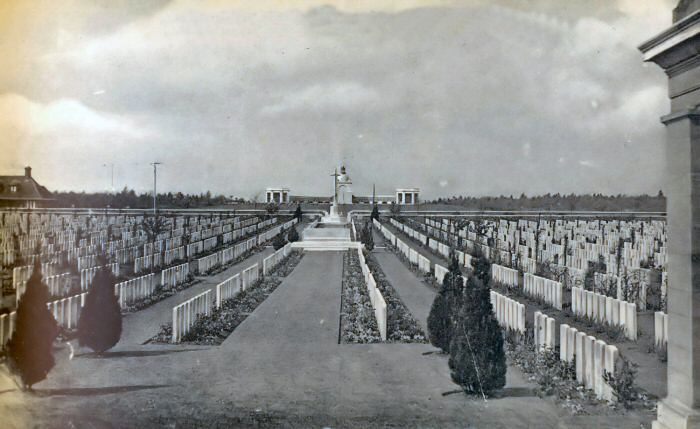 Delville Wood Cemetery in the 1930s