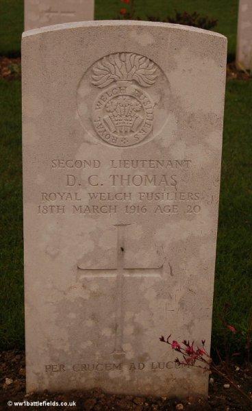 Grave of David Thomas