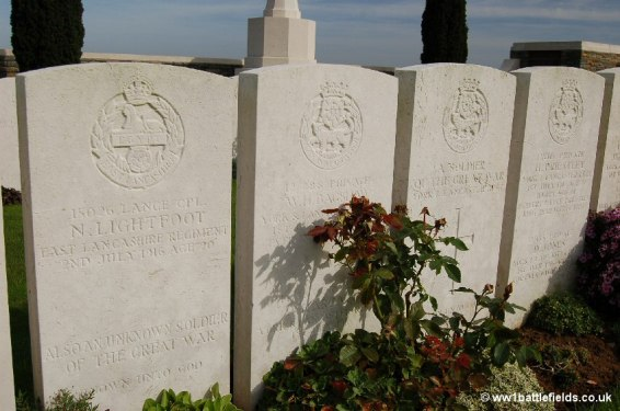 Queens Cemetery: many headstones show two names