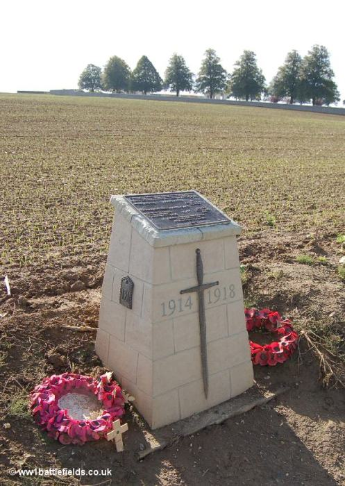 Memorial near Serre Road No. 2 Cemetery