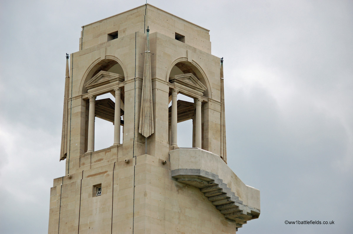 Tower of the Villers-Brettoneux Memorial