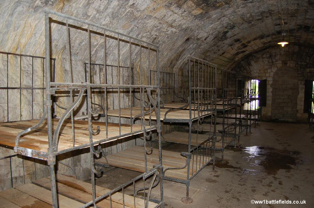 A dormitory in Fort Douaumont