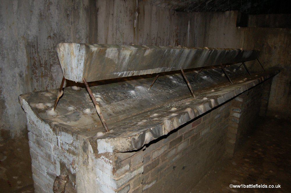 The latrines at Fort Douaumont