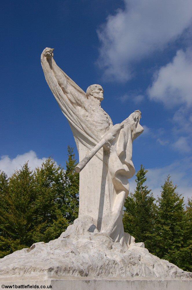 The 'Skeleton' Memorial at Mort-Homme