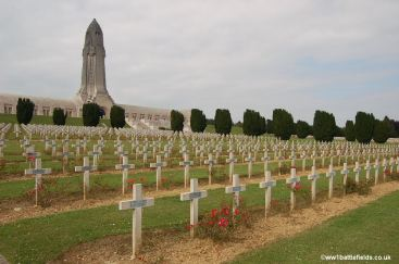 The French Cemetery with the Ossuary behind
