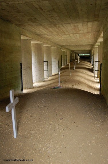 Trench of Bayonets, Verdun