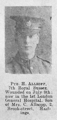 Hubert H Allsopp