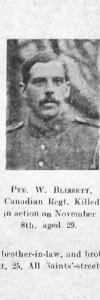 Blissett, William