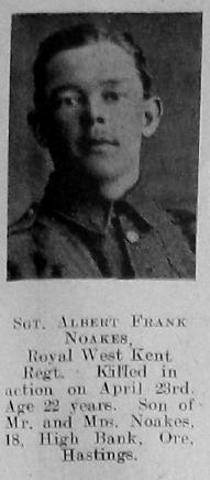 Albert Frank Noakes