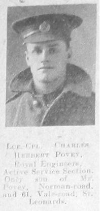 Charles Herbert Povey