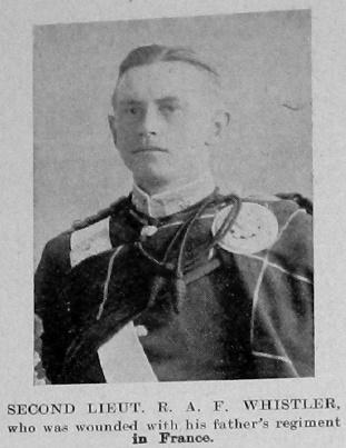 Ralfe Allen Fuller Whistler