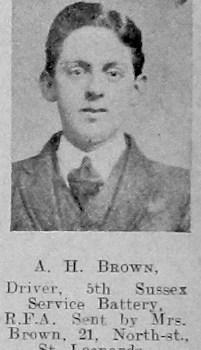 A H Brown