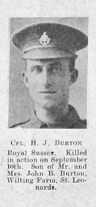 Hedley John Burton