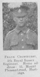 Crowhurst, Frank