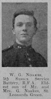 Noakes, W G